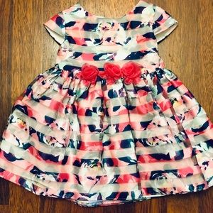 Adorable Floral Dress 12M